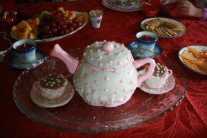 Tea Pot Tea Party Cake